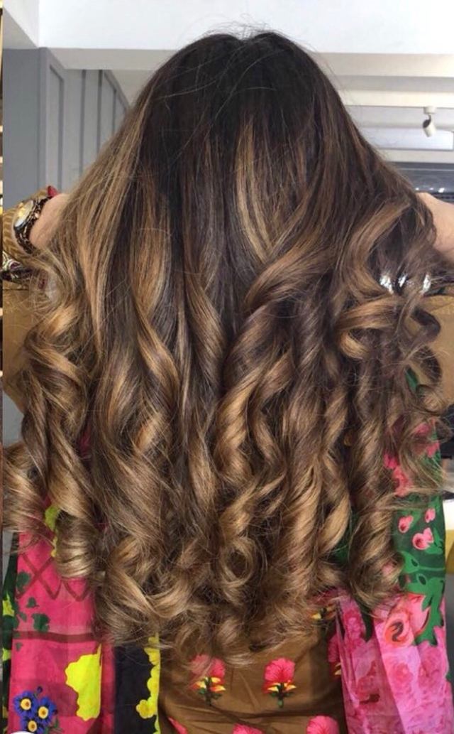 Goldcaramel Balayage Summer Hair Color Sehrs Blog